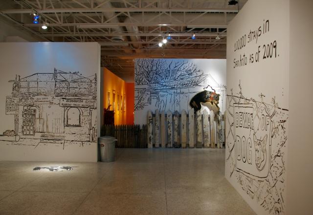 Guadalupe Gallery , San Antonio, Texas, 2010.
